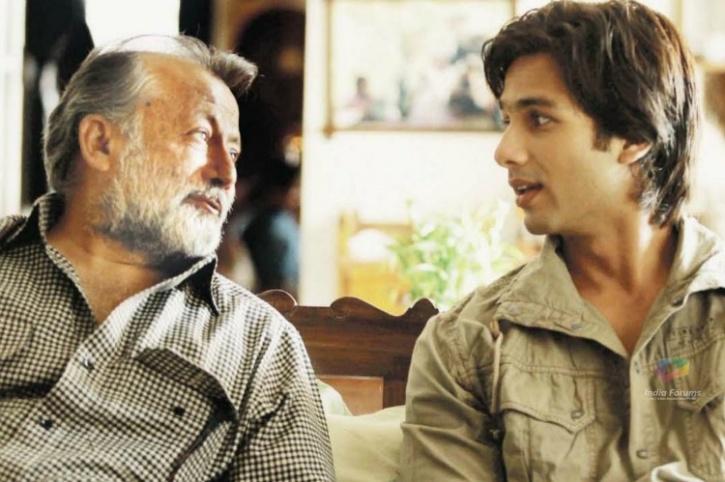 Shahid Kapoor and Pankaj Kapoor