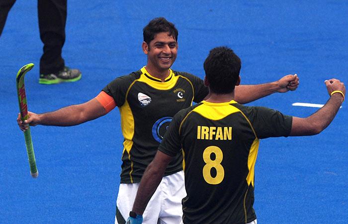 Pakistani Hockey Player