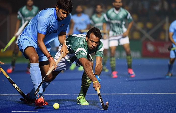 India pakistan hockey match