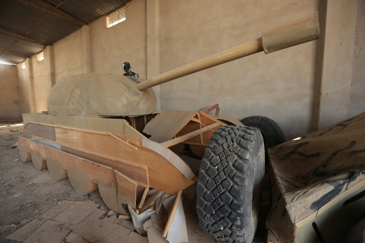 Wooden tank isis