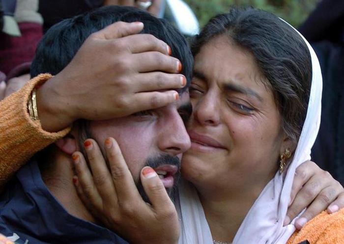Mother Appeals, Militant Son Surrenders In J&K