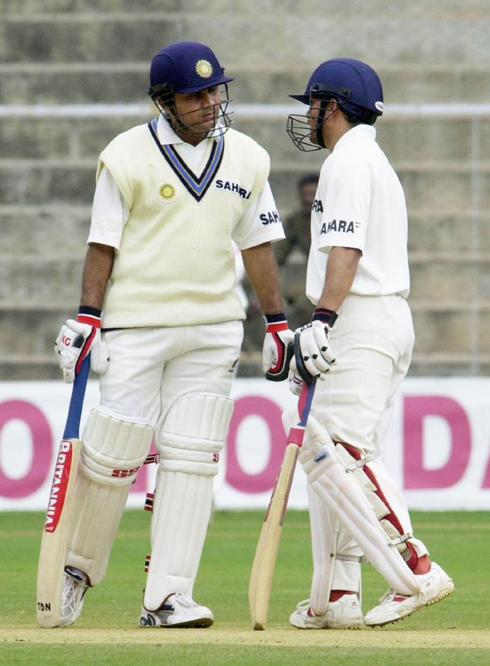 Sehwag with Sachin