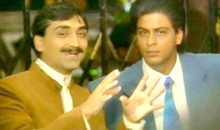 Shah Rukh Khan and Aditya Chopra