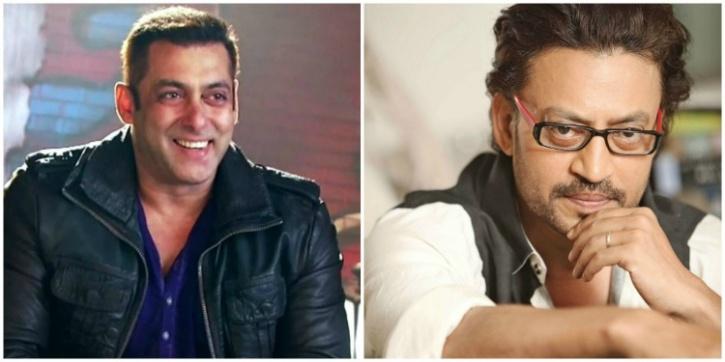 Salman Khan and Irrfan KHan