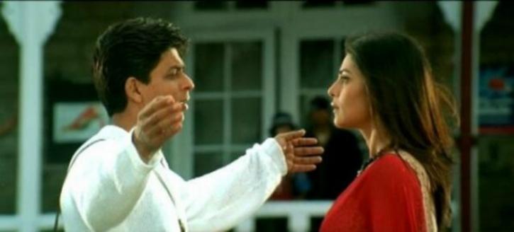 Shah Rukh Khan and Sushmita Sen