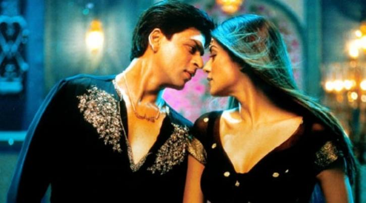 Sushmita and Shah Rukh Khan