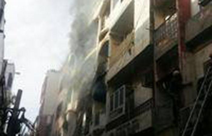 Fire Break Out in Building