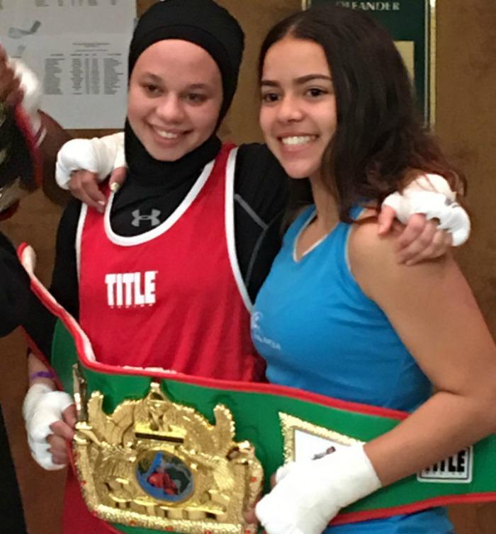 Amaiya Zafar and Aliyah Charbonier