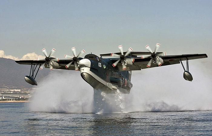 Japanese US-2 amphibious aircraft
