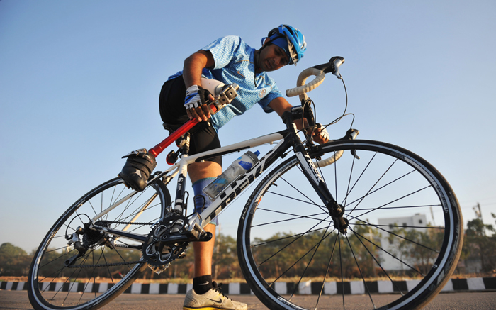 Paralympian Aditya Mehta