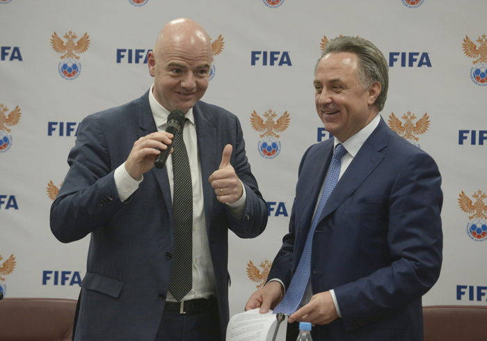 FIFA chief Infantino
