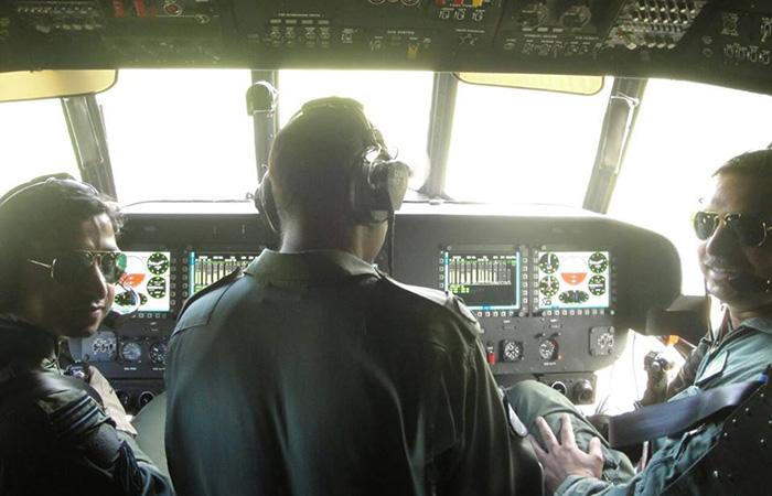 Manvendra Singh and his son Flight Lieutenant Siddharth Singh