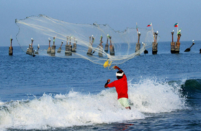 Fishermen Entering Sri Lanka