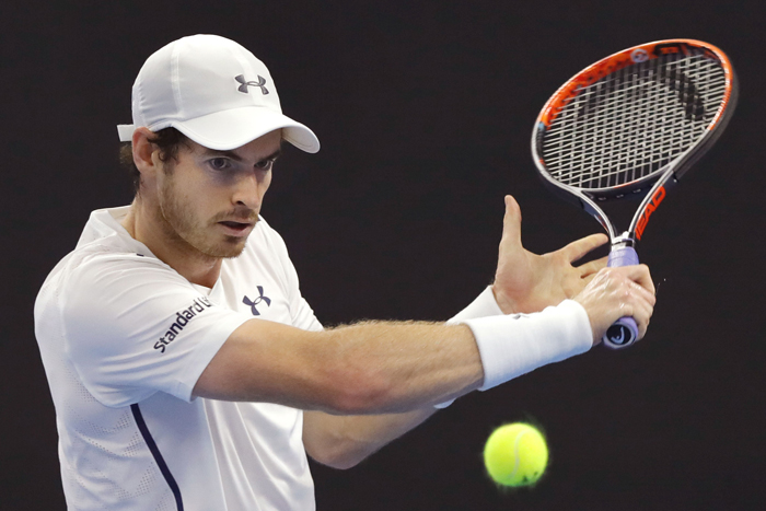 British tennis star Andy Murray