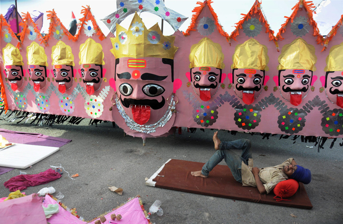 Terrorism to be Ravana