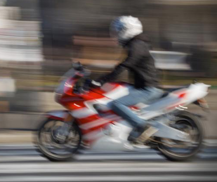 Rash biker slashes 14-yr-old