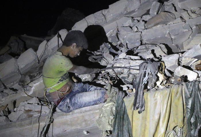 500 killed in Aleppo bombings