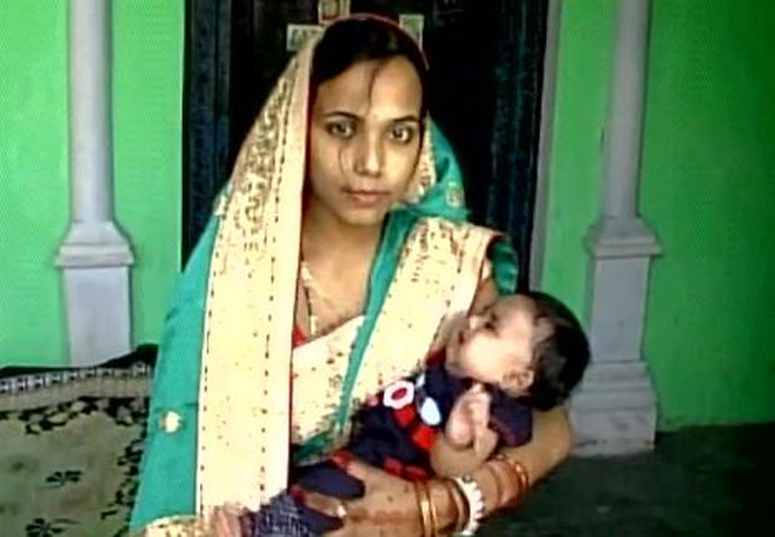 PM Calls Up Mirzapur Couple, Christens Baby