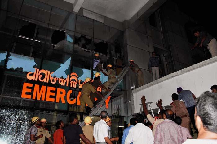 Odisha fire