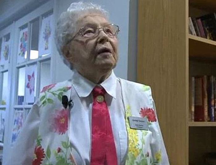 102-year-old woman gets 'arrested'