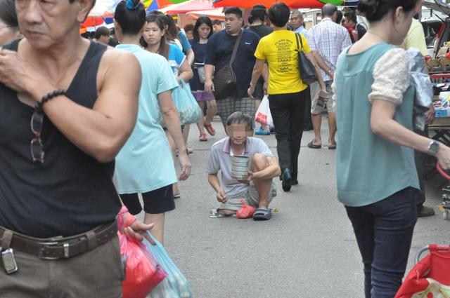 child beggars malaysia