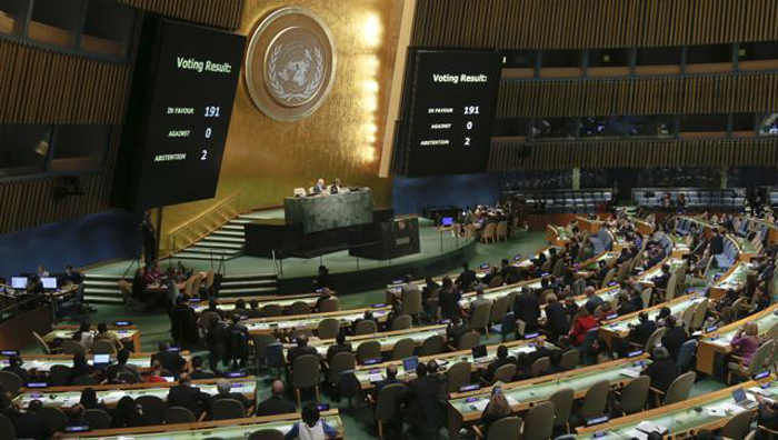 India Abstains From Voting On Nuclear Weapons Ban At UN