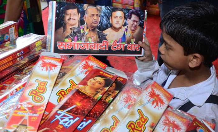 Samajwadi Rocket, Angry Bomb Put Sales On Fire In Lucknow HT