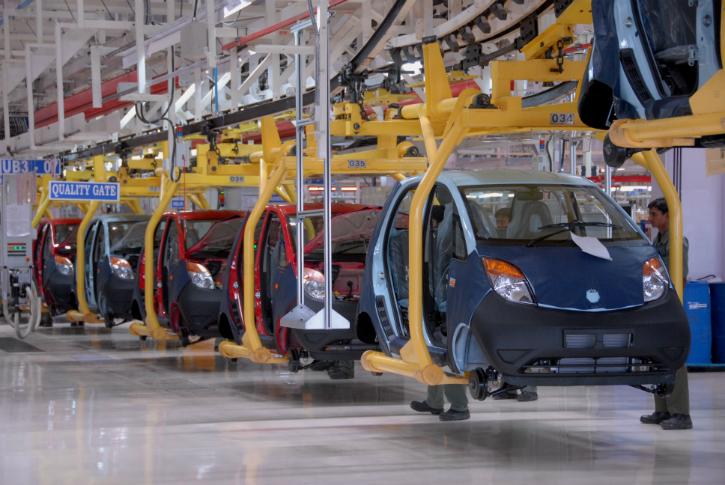 Nano assembly line Sanand