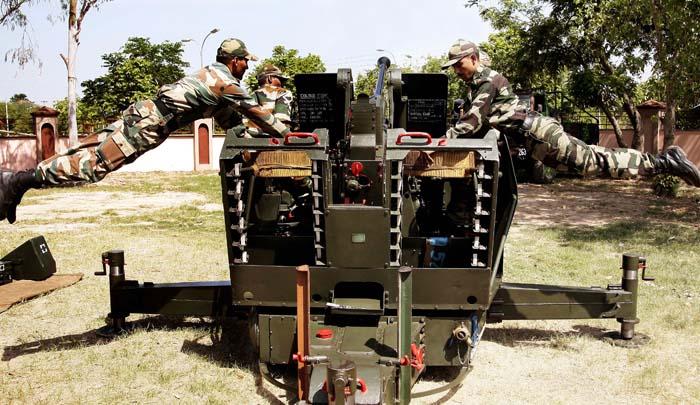 simulation testing of military equipmen