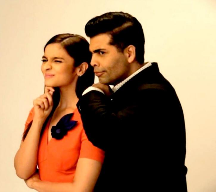 Alia and Karan