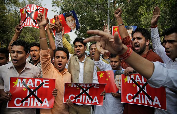 Boycotts Chinese