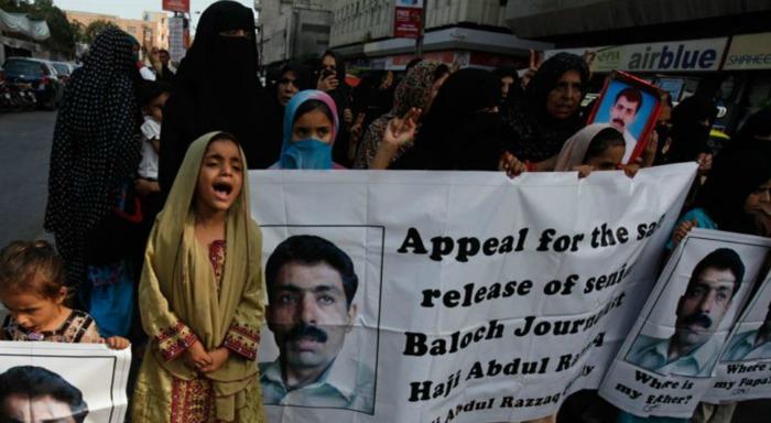 Baloch protest