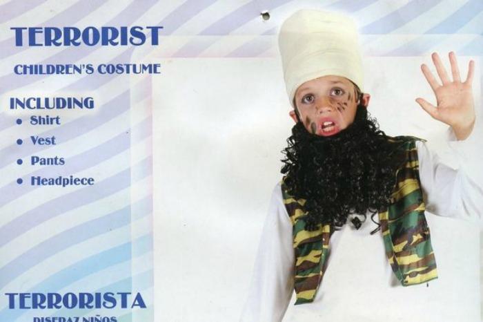 child terrorist costume