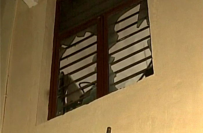 fire engulfs SUM hospital in Bhubaneswar
