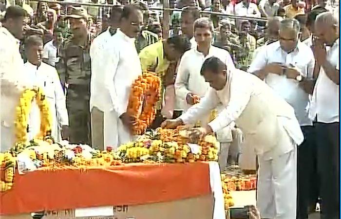 Adieu To BSF Jawan Nitin Subhash Koli