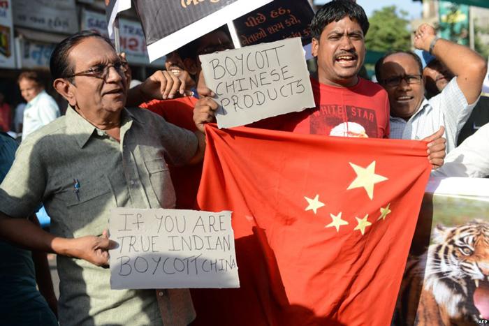 Boycott Calls Against China