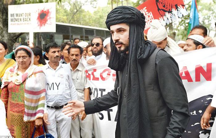 Rebel leader Mazdak Dilshad Baloch