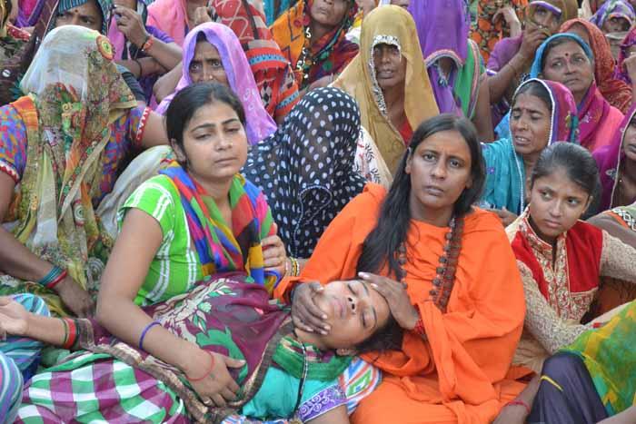 Dadri Bishahra Village After Under-Trial Died Of Kidney Failure