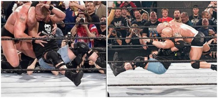 12 Years After Their Epic Flop At Wrestlemania XX, Brock Lesnar v Bill Goldberg At Survivor Series Is Still Making Fans Go Crazy