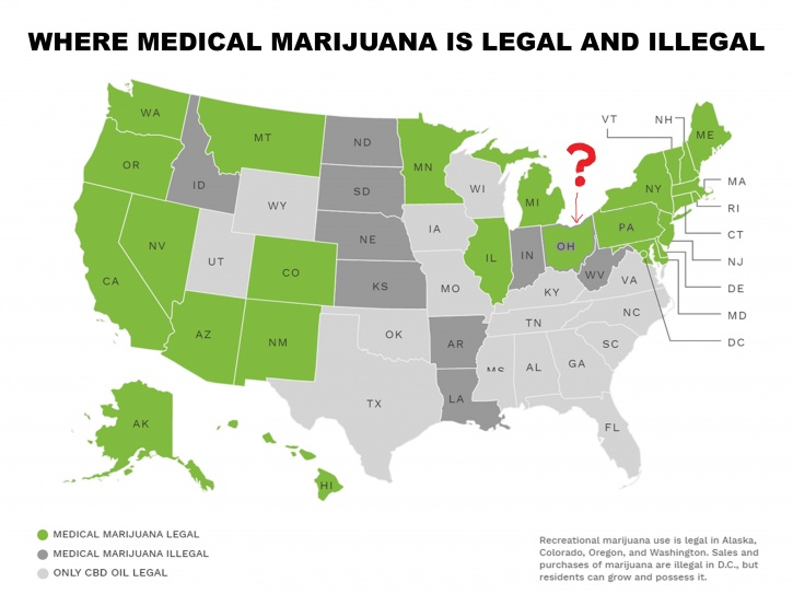 map weed US