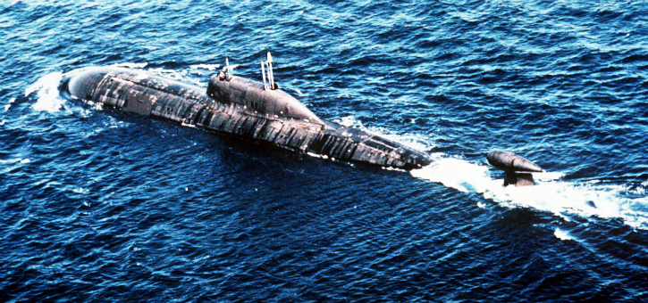 Akula-II class boat
