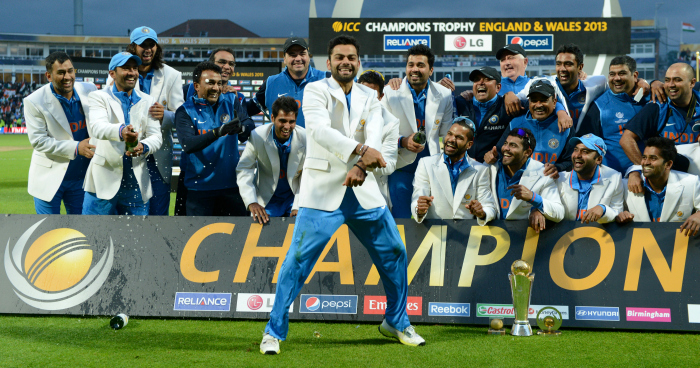 India in 2013 champions Trophy