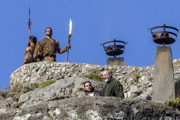 Jon Snow, Ser Davos