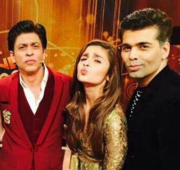 Alia SRK and Karan
