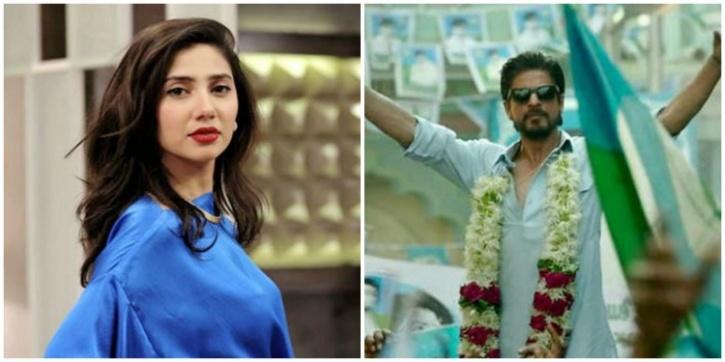 Mahira and Shah Rukh Khan