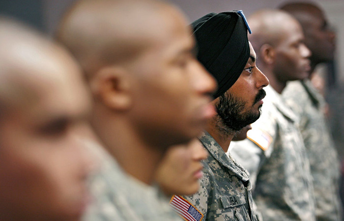 Sikh in US Army