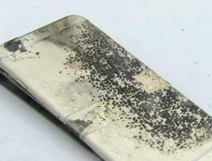 iPhone 6 Plus explodes