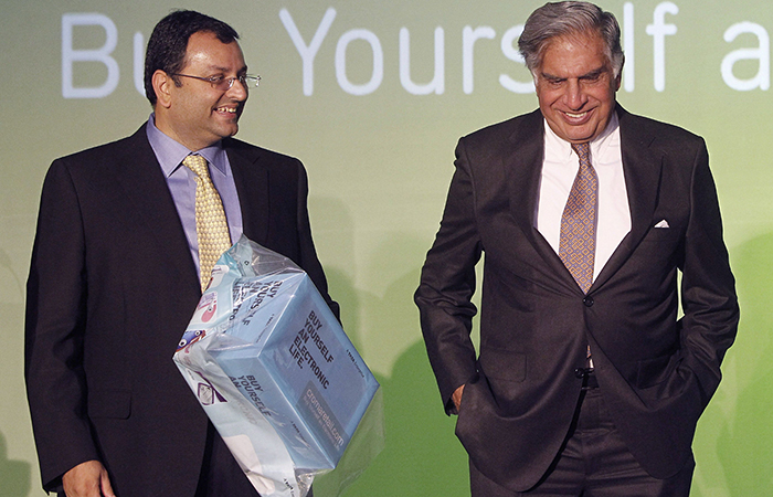 Cyrus Mistry with Ratan Tata