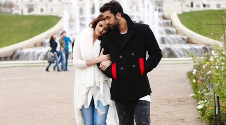 Ranbir and Aishwarya Rai