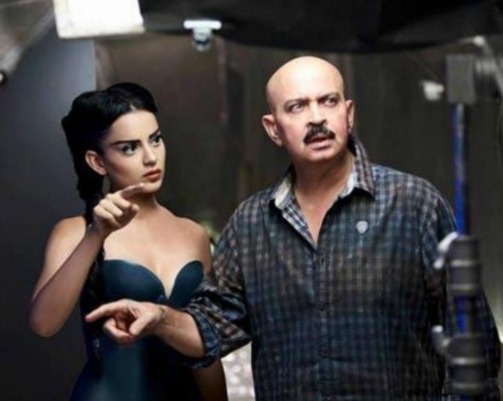 Kangana and RAkesh Roshan